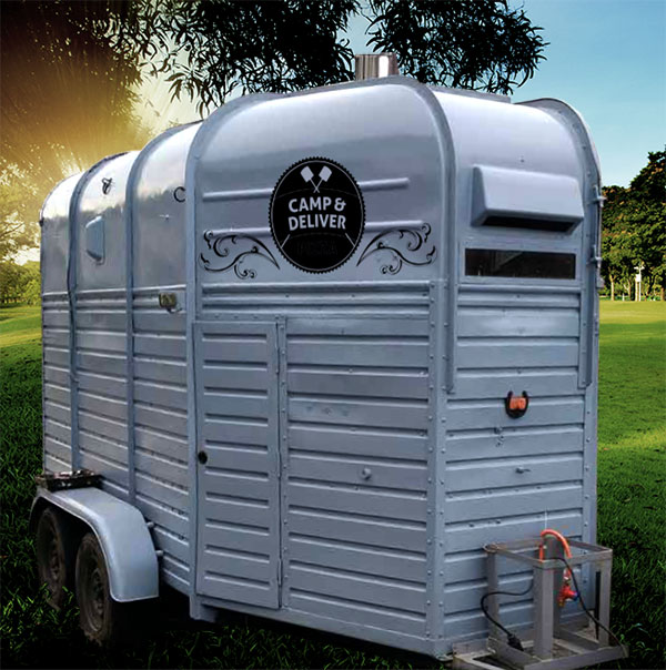 vintage trailers hire for weddings